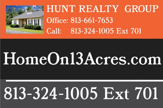 For Sale Sign of HomeOn13Acres.com
